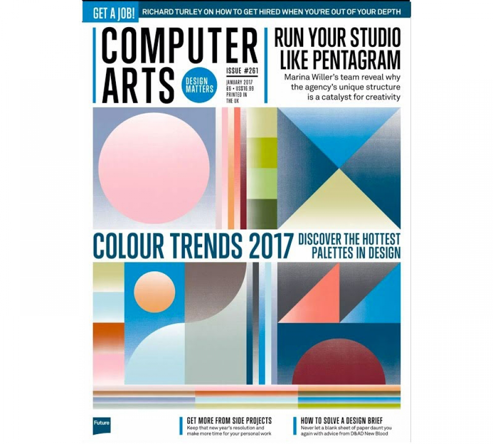 Computer Arts Colour Trends 2017
